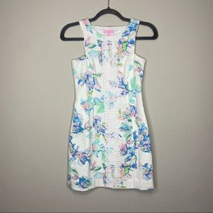 LILLY PULITZER Cecily Coastal Kiss Fish Dress 00
